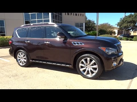 2012 infiniti qx56 san antonio austin houston dallas new braunfels tx it15860a youtube. Black Bedroom Furniture Sets. Home Design Ideas