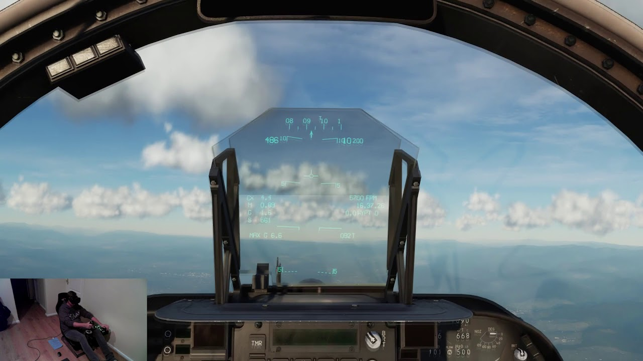 DCS 2 5 - VR - Testing AV8B Harrier and New Thrustmaster Warthog Hotas