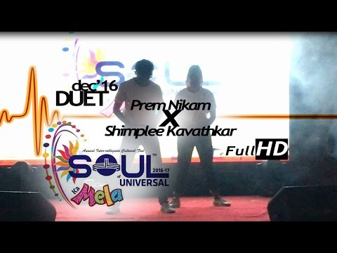 Prem Pks-Shimplee Kavathkar | Soul Of Universal | Duet | Live |15th Dec'16