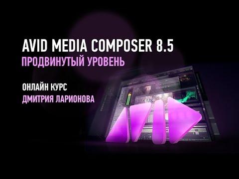 Avid Media Composer 8.5. Продвинутый уровень. Дмитрий Ларионов