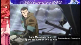Date Masamune  & Katakura Kojūrō vs Toyotomi Hideyoshi & Takenaka Hanbei [HD]