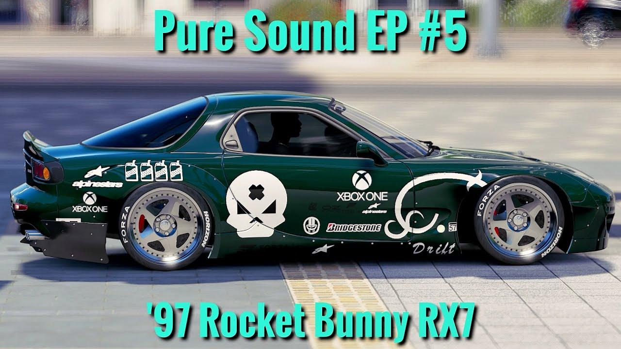 forza horizon 3 | 1997 rocket bunny mazda rx7 | pure sound ep #5