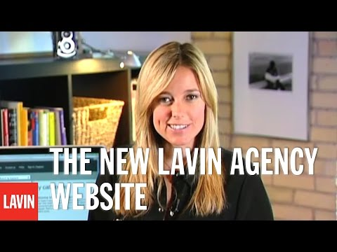 Amber MacArthur Video: The New Lavin Agency Website
