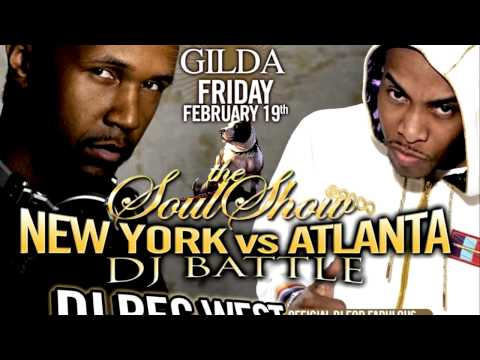 Dj SouthanBred Live in Rome Italy @ Club Gilda Feb 19th.mov