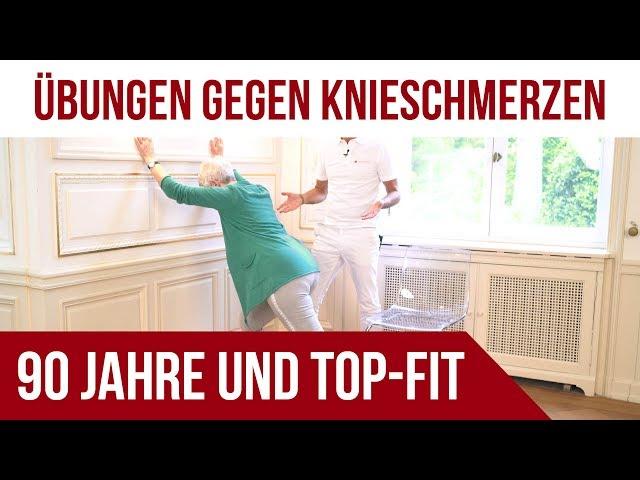 Knieschmerzen / Kniearthrose | 90 Jahre und Top-Fit | Liebscher & Bracht