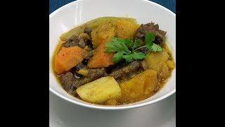 Empress Multi-Purpose Cooker Recipe: Pumpkin Beef Stew