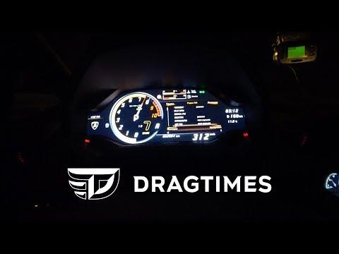 DT 0-300+. Lamborghini Huracan Performante 0 - 312 Km/h.