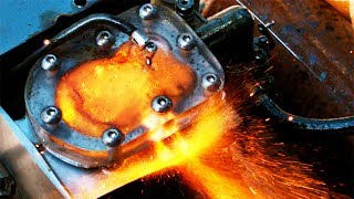 Combustion See Through Engine 4k Slow Motion Visible Combustion