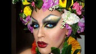 Nina flowers makeup