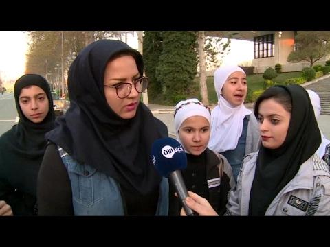 أخبار رياضية - للمرة الأولى تشارك نساء إيرانيات في #ماراثون #طهران  - 21:21-2017 / 4 / 14