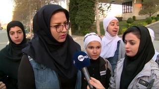 أخبار رياضية - للمرة الأولى تشارك نساء إيرانيات في #ماراثون #طهران