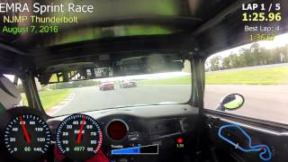 EMRA Sprint Race - NJMP Thunderbolt 8-7-16 - Mini Cooper S
