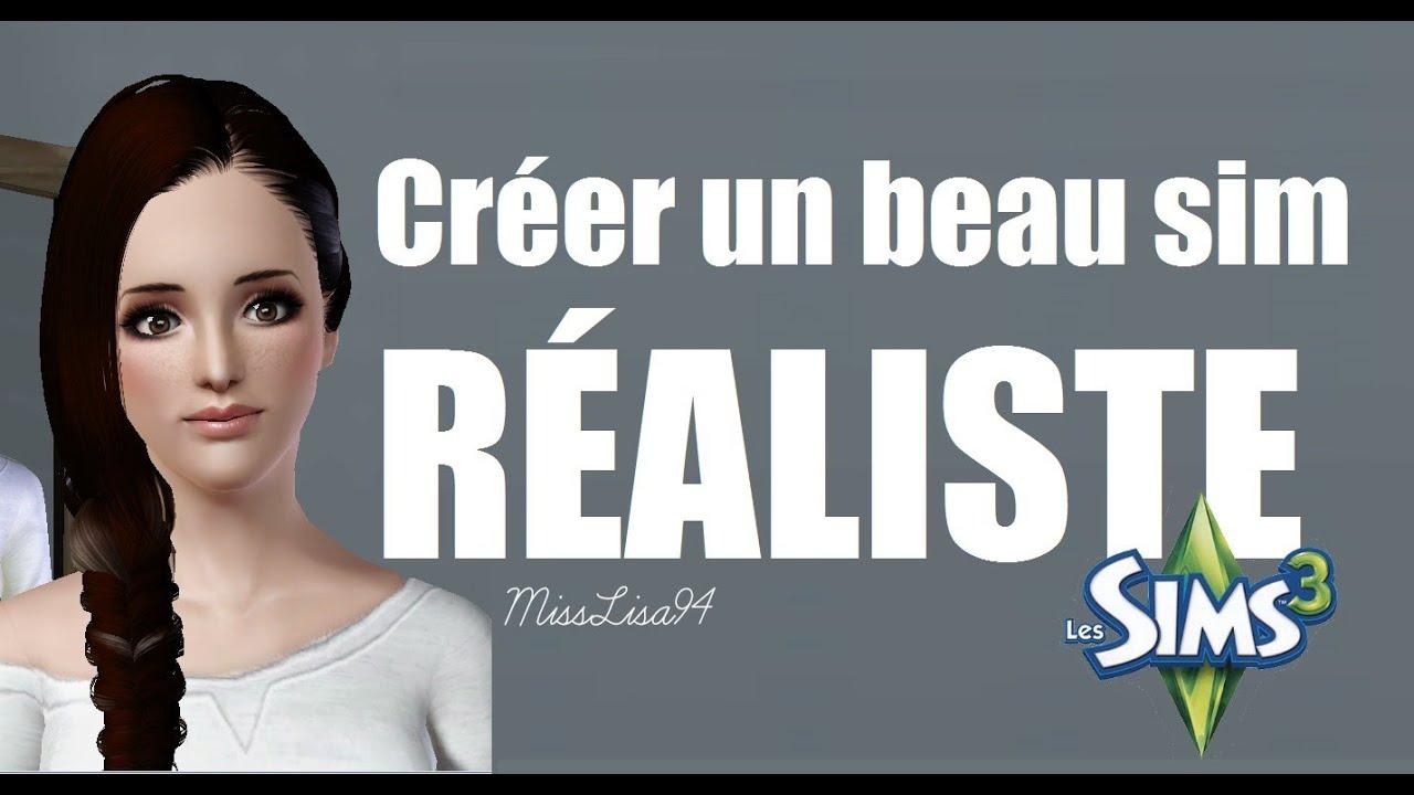 Top ♥ Les Sims 3 | Comment faire un Sim beau et réaliste ♥ made by  YU55