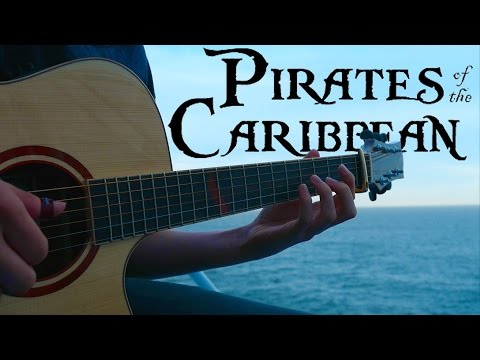 Pirates of the Caribbean Theme  Fingerstyle Guitar