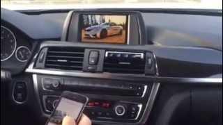 полная синхронизация вашего телефона по WIFI с базовым экраном BMW F20 F30