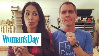 the story of how clint harp was discovered by chip and joanna gaines   woman s day