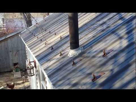 How To Install Roof Snow Guards On A Metal Roof