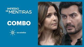 Imperio de mentiras: Leonardo le tiende una trampa a Cristina | C- 88 | Las Estrellas