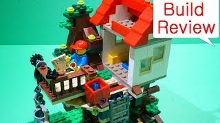 Lego Creator (레고) 31010 Treehouse - Build Review