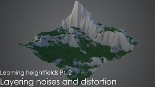 Learning heightfields Pt 2: Noises and distortion