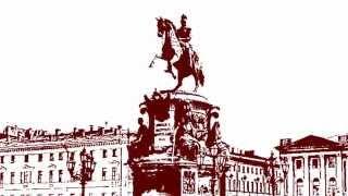 Санкт-Петербург. Контурные рисунки для выжигания