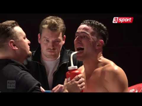 Jama Saidi Afghanistan Professional boxer at germany vs yousuf bin ali 2017