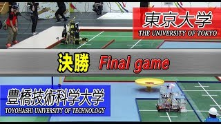 The University of Tokyo wins!2018 NHK ROBOCON/Best robot battle determined in the start 15 seconds!