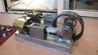 3 hp mike brown steam engine twin cylinder with roller bearings