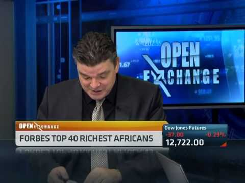 Forbes Top 40 Richest Africans for 2012
