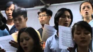 Bài hát thực hành : Tiếng nhạc oai hùng - Khóa học Thanh Nhạc : Gx Công Lý - Q3 -Saigon