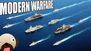 Naval Warfare Aircraft Carrier Fleet Modern Warfare Mod - Command and Conquer Generals