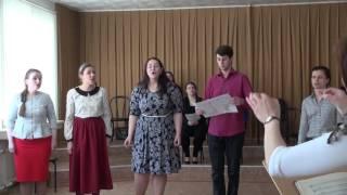 """Урок-концерт по дисциплине """"Изучение оперных партий"""""""