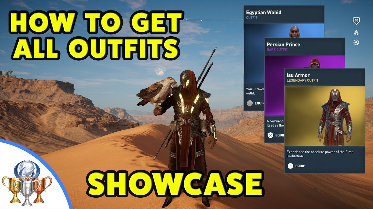 Assassin S Creed Origins Outfits Walkthrough How To Get Every