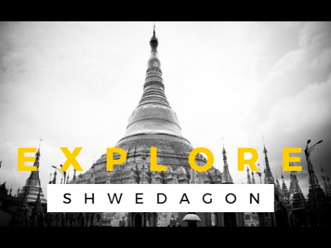 Explore Shwedagon Pagoda - 360 Degree View Virtual Video Tour [HD]