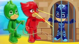 сКАЗКА Герои в масках  Аллет в темнице Ромео  Машины истории с игрушками