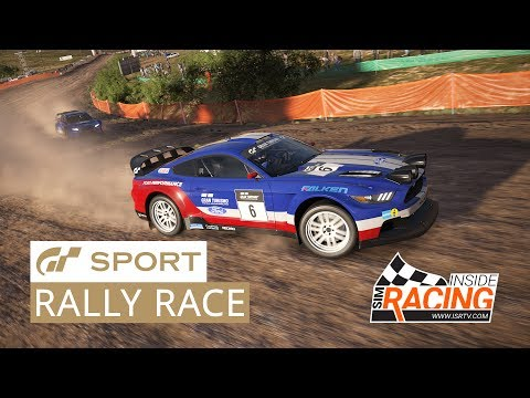 Gran Turismo Sport E3 2017 Media Race - Mustang Rally at Sardegna
