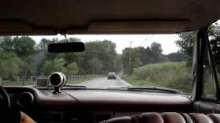 Taking a ride in the 63 Galaxie