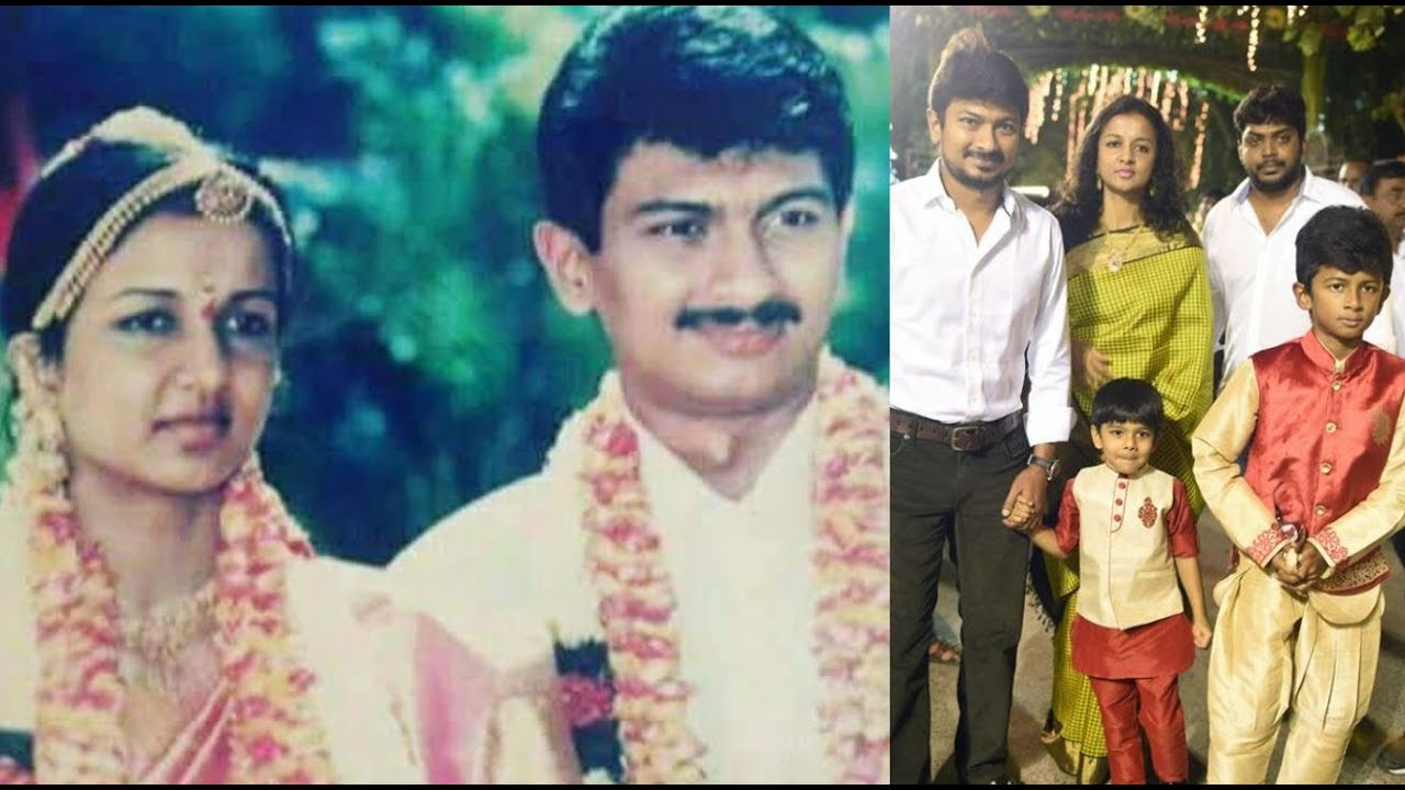 Actor Udhayanidhi Stalin Childhood & Family Pics | Biography | - YouTube