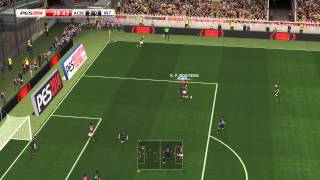 PES 2014 - Inter vs Milan Gameplay PC