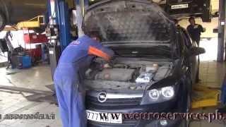 Катализатор авто на Opel Astra. Катализатор и гофра ,замена и удаление .