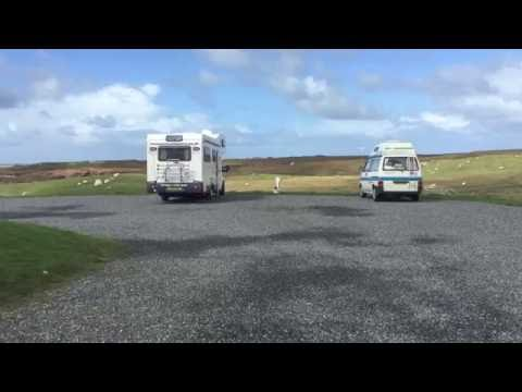 Moorcroft Campsite, North Uist. ScotVlog 64