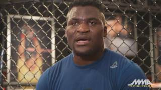 Francis Ngannou: Derrick Lewis Is 'Too Slow for Me'