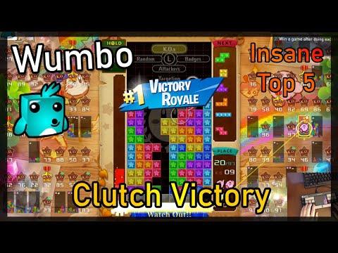 Tetris 99 - Insane 3 Minute Top 5 - Clutch Victory w/ 522 Lines