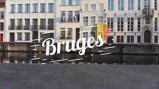 Drone Places - Bruges, Belgium