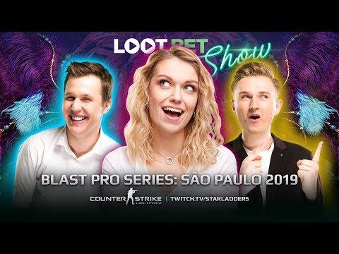 Карнавал ставок | BLAST: São Paulo 2019 | LOOT.BET SHOW CS:GO