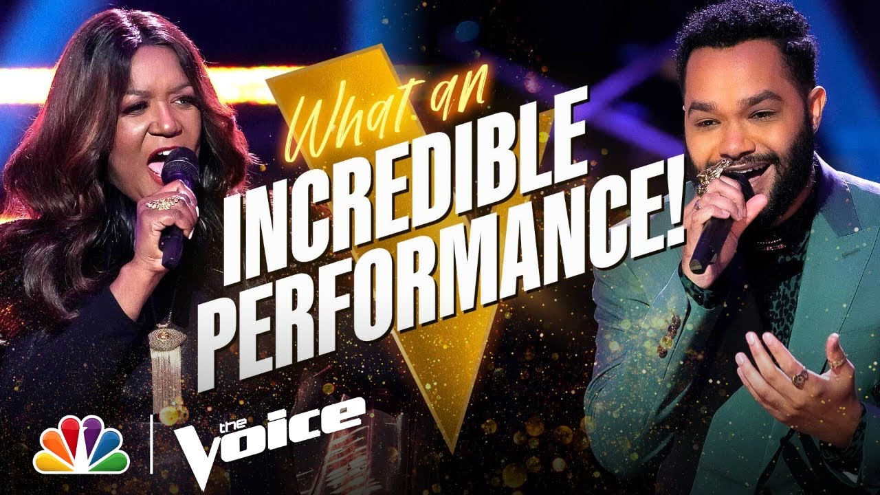 """Download Manny Keith vs. Wendy Moten   Sting's """"If I Ever Lose My Faith in You""""   The Voice Battles 2021"""