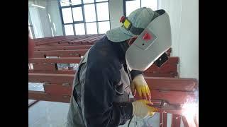 ■지식산업센타 복층공사 철계단설치영상 현대금속010-4…