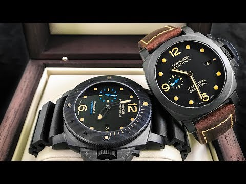 Panerai Carbotech Review – Such a Cool Watch!