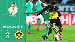 Werder Bremen - Borussia Dortmund 3:2 | Highlights | DFB-Pokal 2019/20 | Achtelfinale