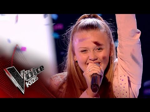 jess-performs-'love-on-top':-live-final-|-the-voice-kids-uk-2017